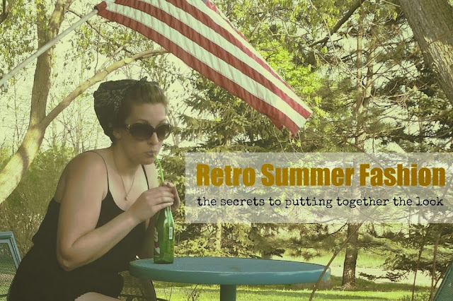 Retro Summer Fashions #ad