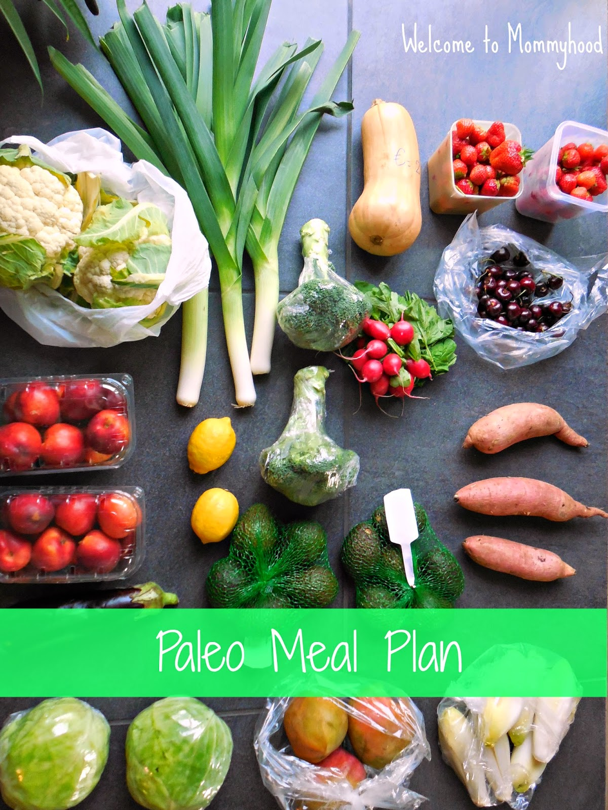 Healthy Meal Plans by Welcome to Mommyhood: This week, we're going paleo!