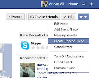 Create Repeat Events on Facebook