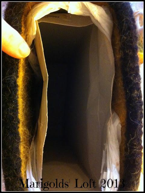 4KCBWEC felting shaping bag