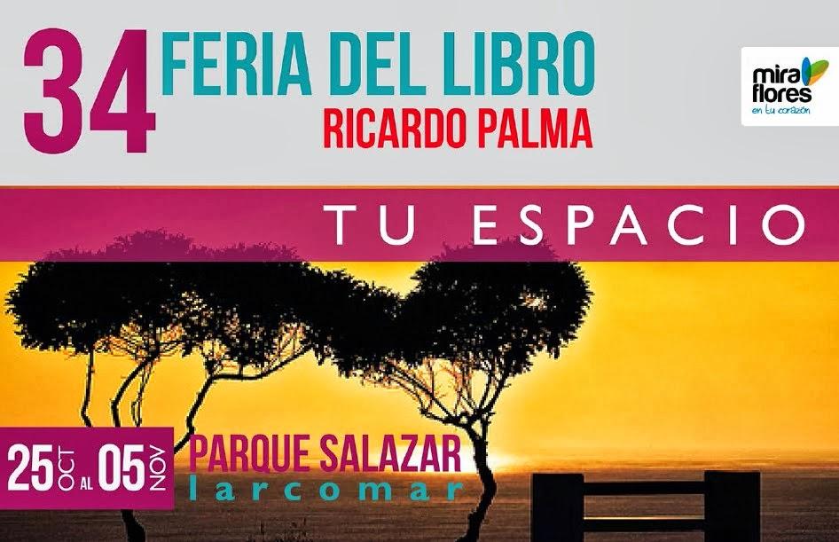 34 Feria del Libro Ricardo Palma