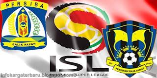 Skor Akhir Persiba vs Persiram | ISL Senin 4 Juni 2012