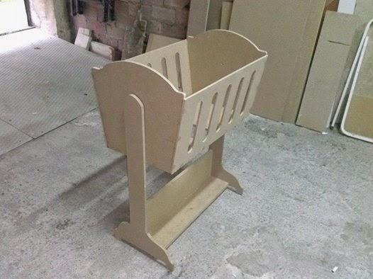 Le petit atelier cuna infantil para mu ecas - Hacer cuna de madera ...