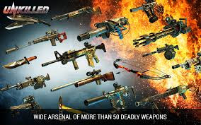 UNKILLED v0.0.9 MOD APK + DATA (Unlimited Ammo+Stamina) Android