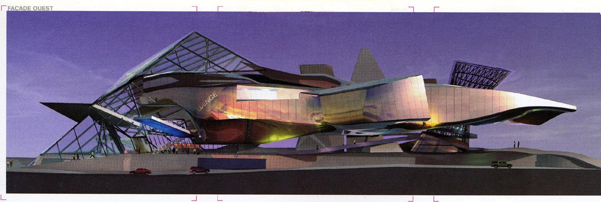 Bensozia mus e des confluences lyon for Architecte musee confluence
