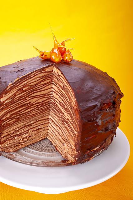 Pfannkuchen- Torte von Martha Steward. edyta Guhl
