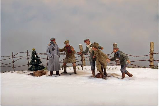 product spotlight wwi christmas truce 1914 by w britains - Wwi Christmas Truce
