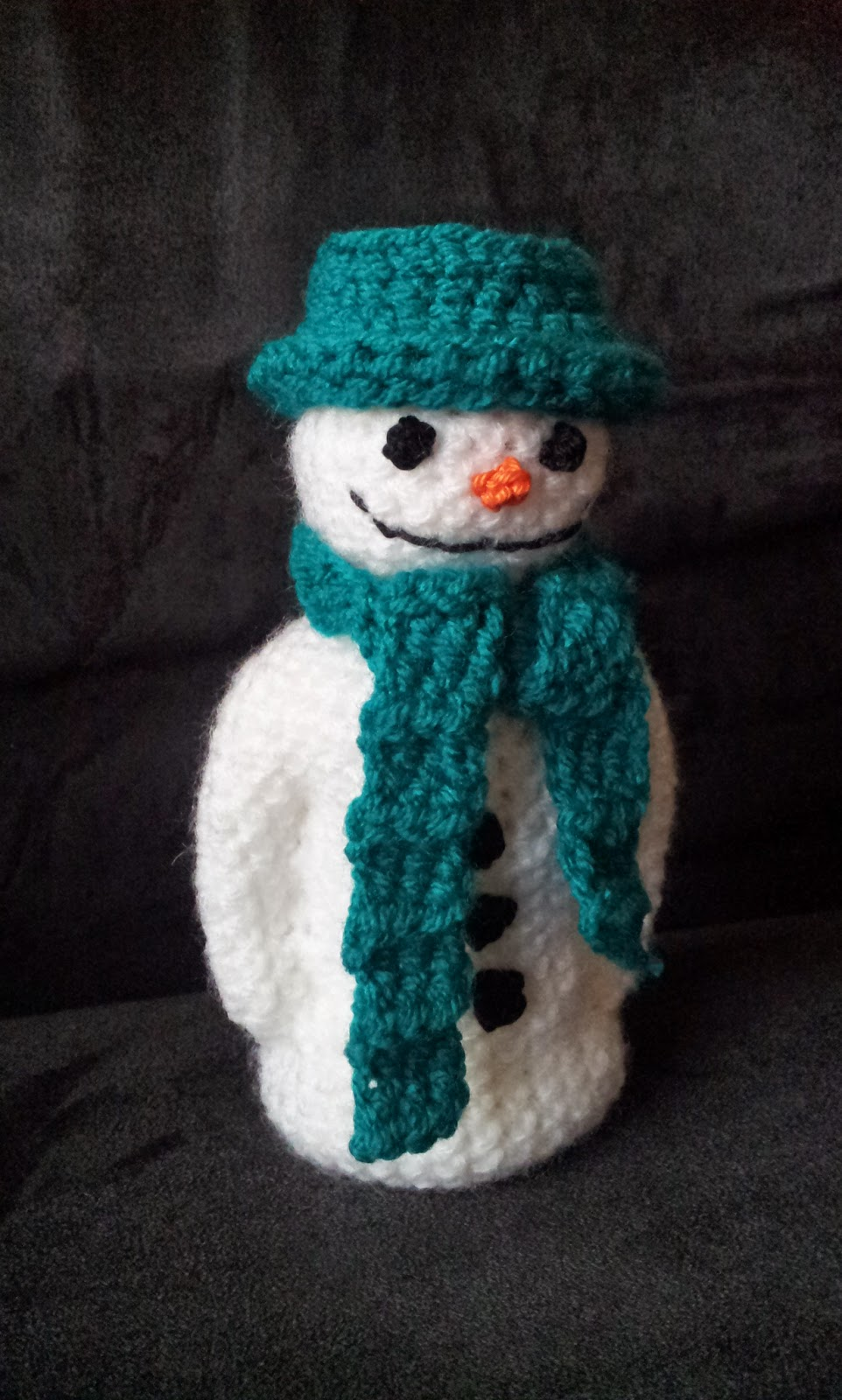 draadje\'s blog: Free Pattern: The Snowman (Raymond Briggs inspired)
