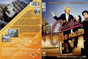 Carátula dvd: Un cadillac de oro macizo (1956) (The Solid Gold Cadillac)