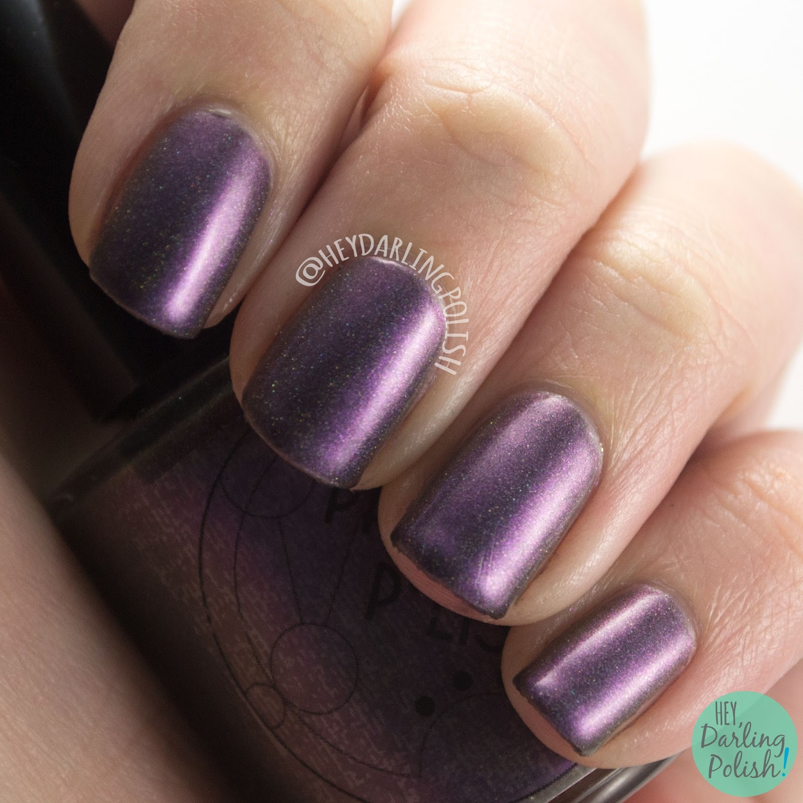marilee, holo, duochrome, shimmer, science, nails, nail polish, swatch, indie polish, indie, indie nail polish, parallax polish, hey darling polish