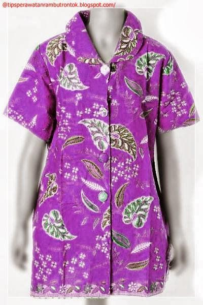 Model Baju Batik Terbaru Untuk Wanita Gambar Model Baju