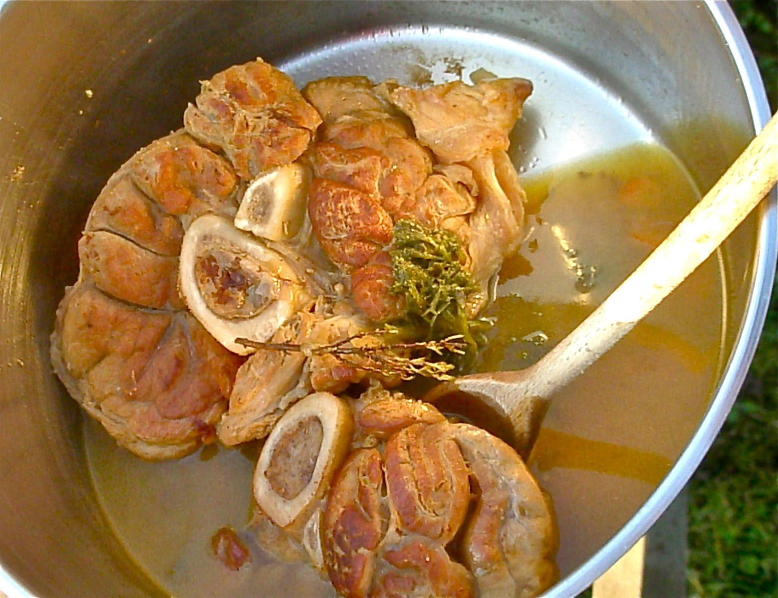 L 39 arbre paroles jarret de veau confit au miel - Cuisiner jarret de veau ...