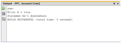 Contoh Tipe Data Boolean (Java)