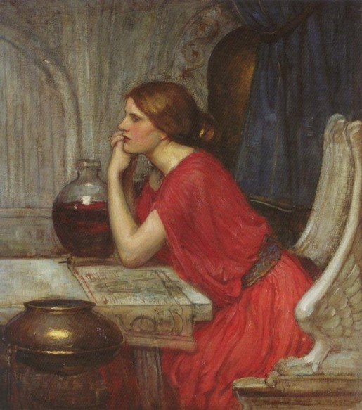 Waterhouse circe painting