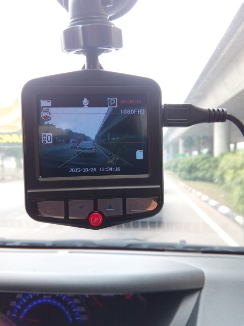 Full HD 1080P Car DVR Vehicle Camera Video Recorder Dash Cam G-sensor 5-piece Set (Blue)