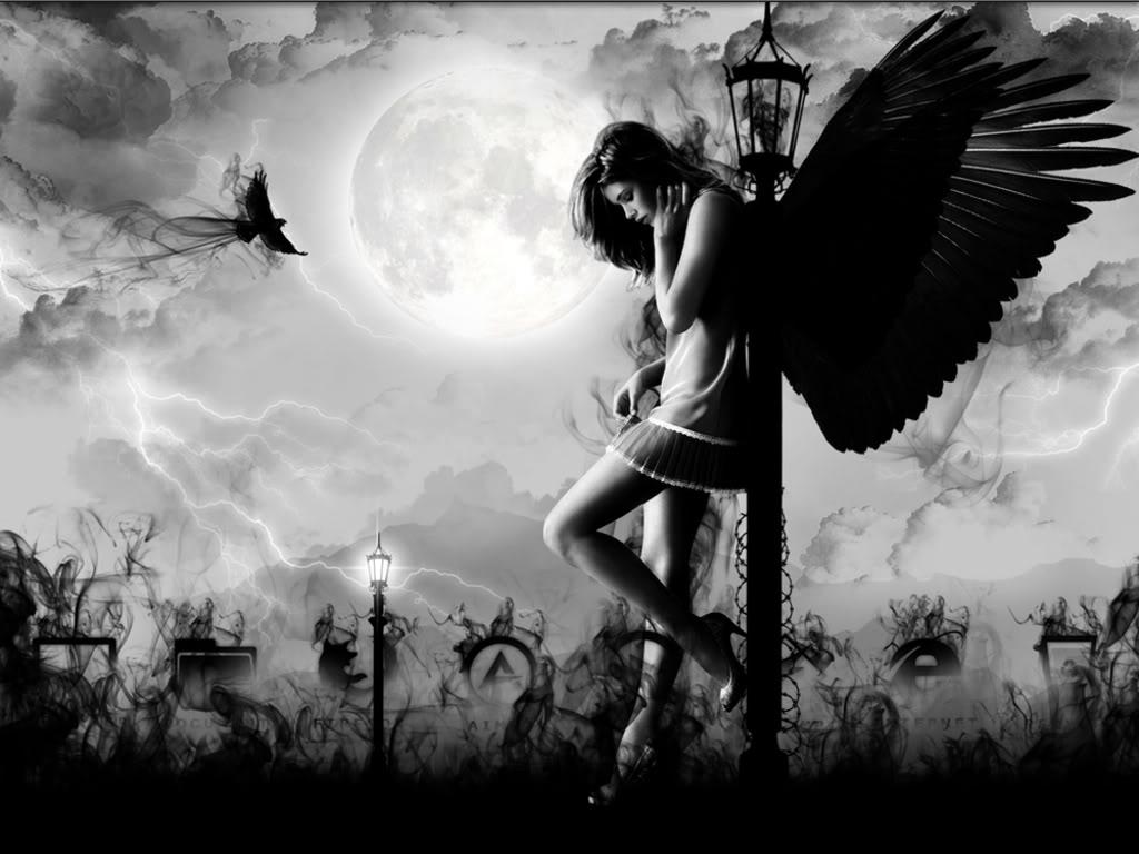 Hình ảnh cô gái buồn đi lang thang trên con đường vằng về những miền xa thẳm