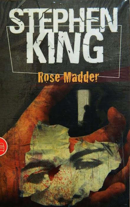 Resenha do livro Rose Madder de Stephen King por Sheila Schildt autora de Sangue na Lua