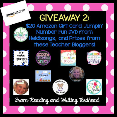 5 For Friday Link Up with my Mega Giveaway!