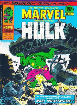 Mighty World of Marvel #143, the Hulk