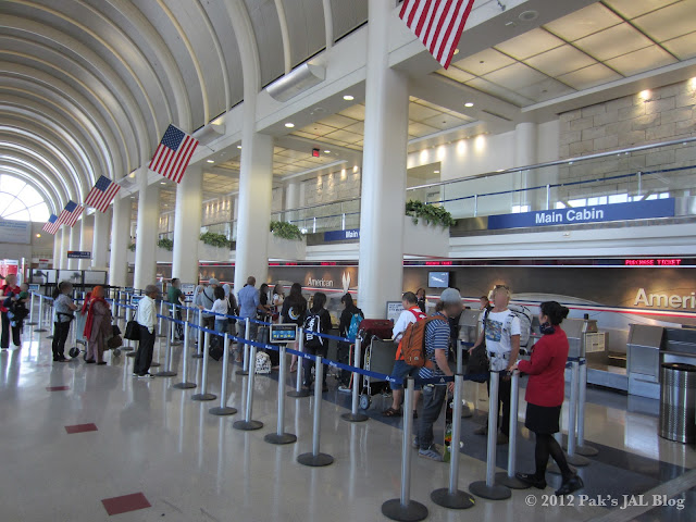American Airlines Main Cabin Check-In Counters at LAX