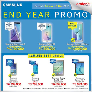 Promo Samsung Akhir Tahun 2015