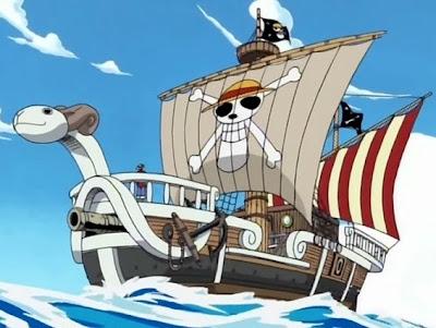 Topi Jerami One Piece Going Merry