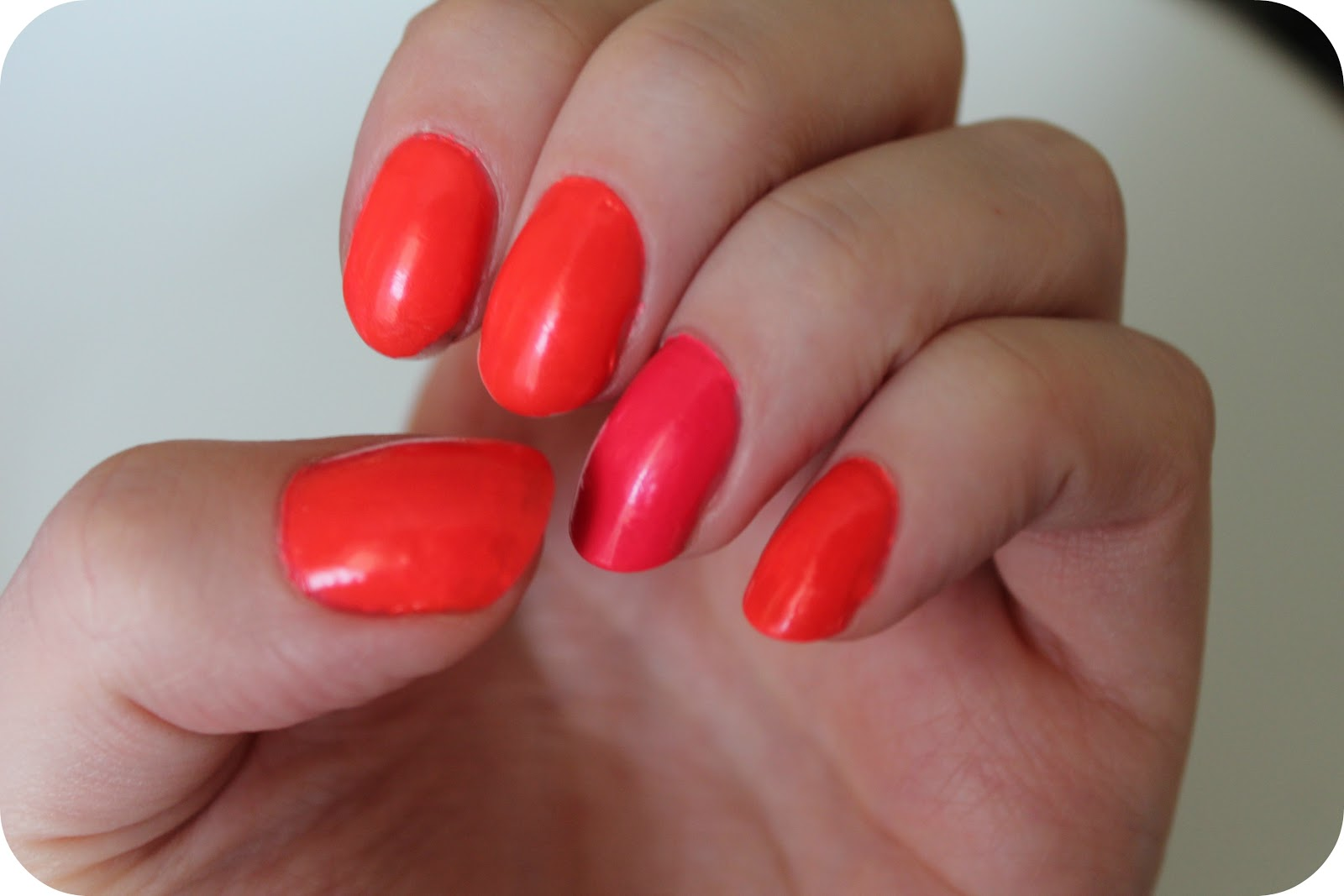 NFP: Models Own Ice Neon Collection- Bubblegum Pink and Pink Punch