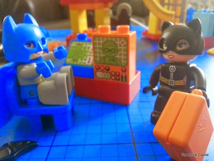 LEGO DUPLO Batcave Adventure set review Batman and Catwoman