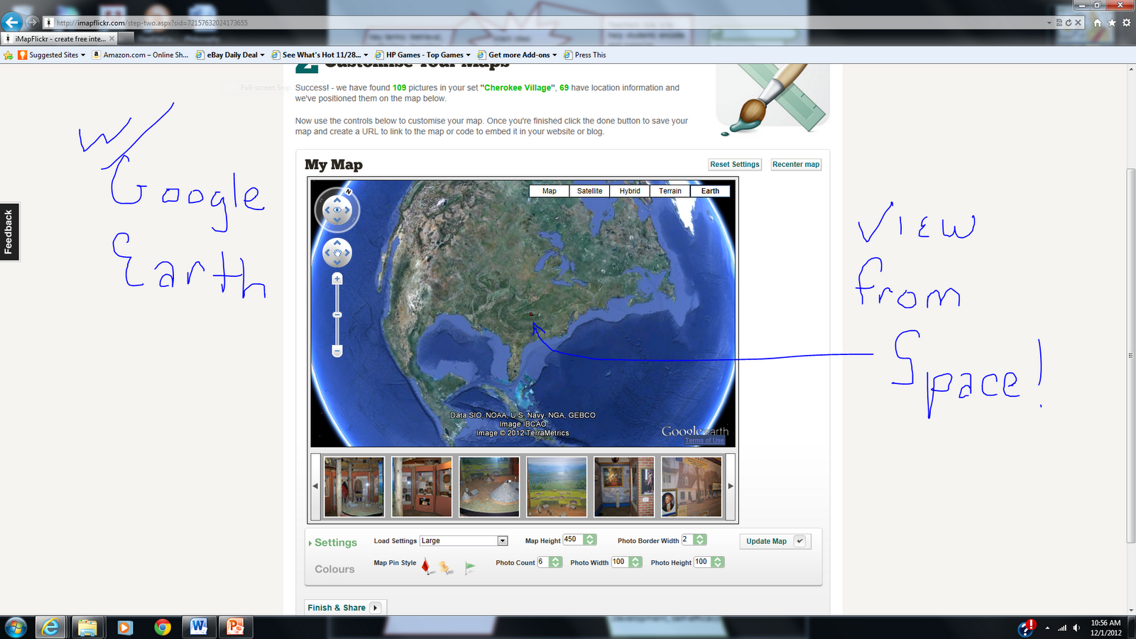 now you can view your locations in a variety of ways