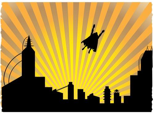 Vens' Paperie: Superhero Birthday Party