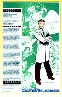 Darwin Jones (ficha dc comics)