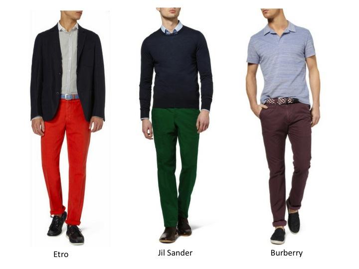 Xaviworld como ponerse pantalones de colores