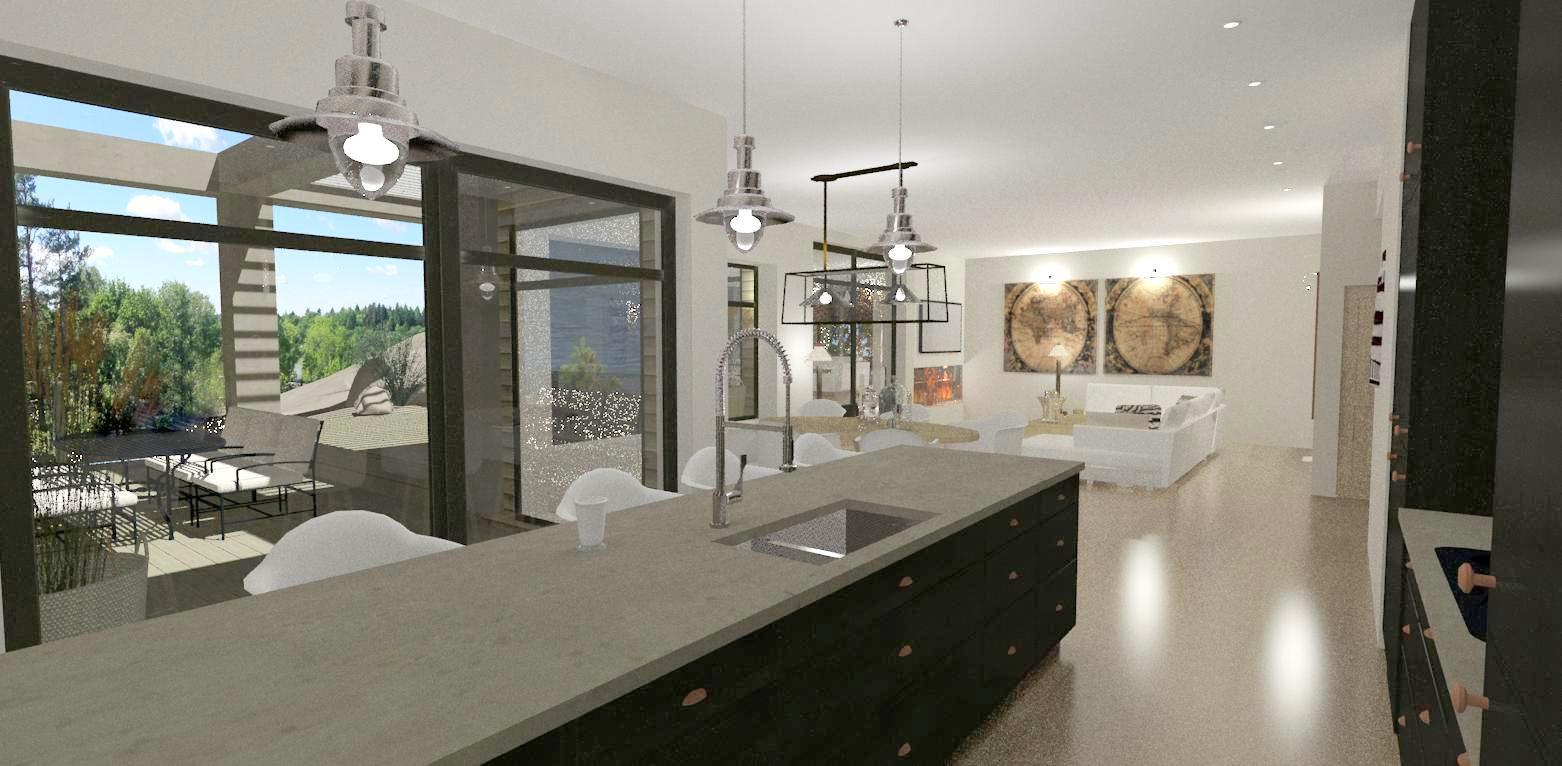 Dreams & Coffees arkitekt- och projektblogg: Ett modernt hus med ...