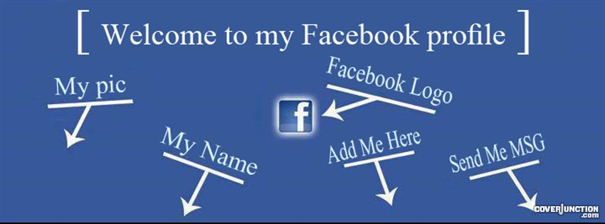 Welcome page Facebook timeline cover points picture