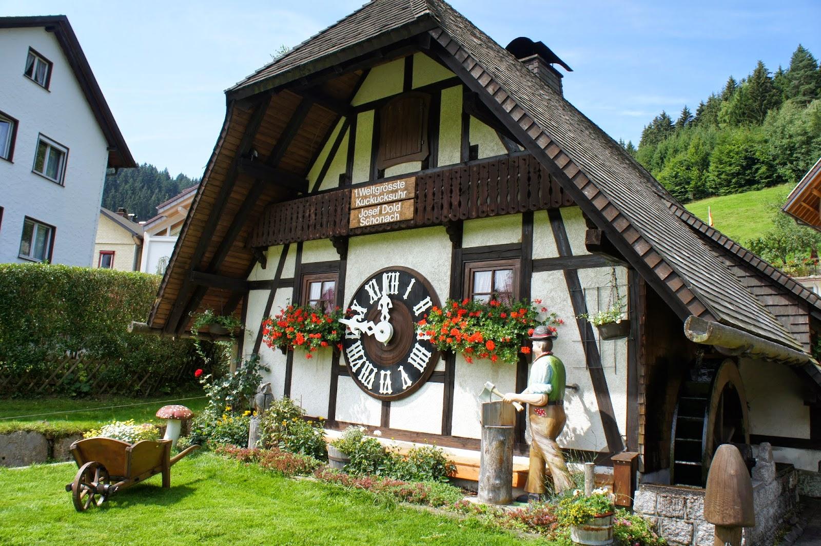 Reloj de cuco más grande del mundo. Schonach