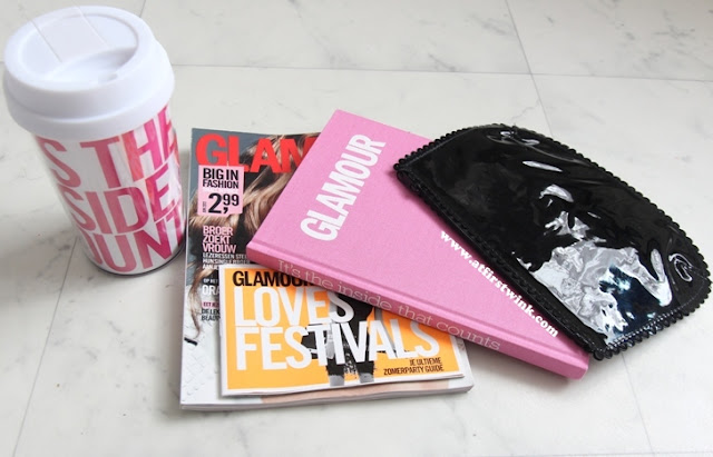 content revealed of Glamour goodie bag