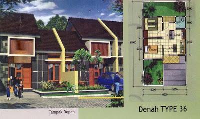 denah rumah type 36 desain denah rumah terbaru denah