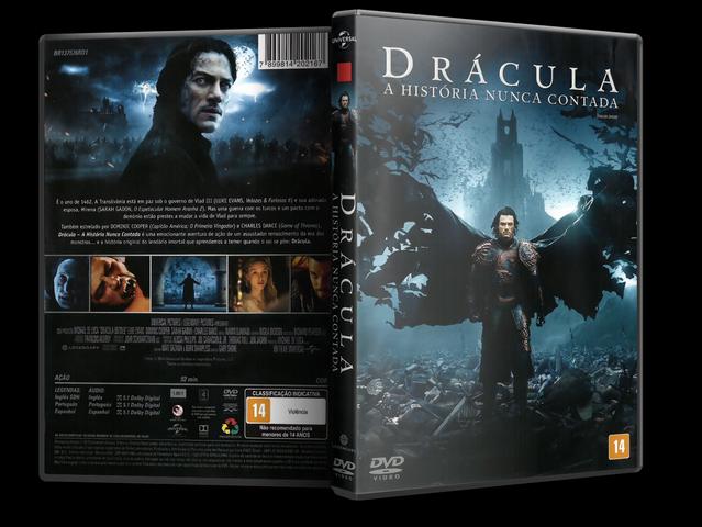 Capa DVD Drácula A História Nunca Contada
