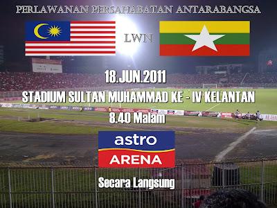 malaysia vs myanmar 2011, keputusan terkini malaysia vs myanmar 2011, perlawanan persahabatan malaysia vs myanmmar 2011, keputusan piala kelayakkan malaysia vs myanmmar 2011