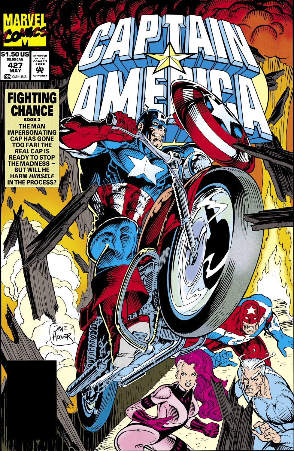Captain America (1968) Issue #427 #377 - English 1