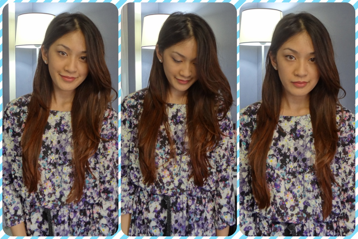 New year new hair diy ombre hair thatgirlcathy dress was 10 at hm score solutioingenieria Gallery