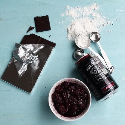 Muffiny - Jack Daniel's, cola i wiśnie