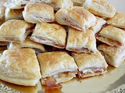 Sfogliatine con pancetta e pecorino