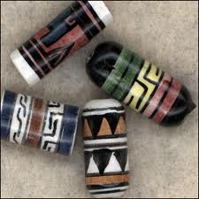 Beads from Peru