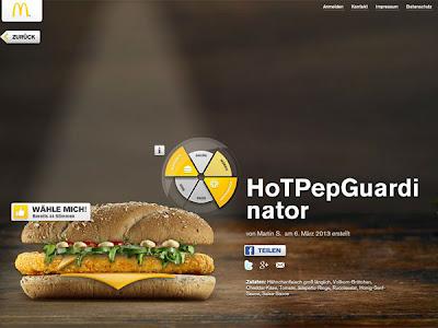 hamburguesa de Pep Guardiola Hotpepguardinator