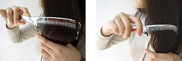 LOVE CHROME 日本最新加工技術 超順暢梳子