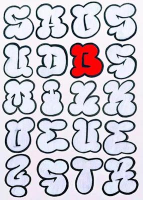 Creative Bubble Letters 2011