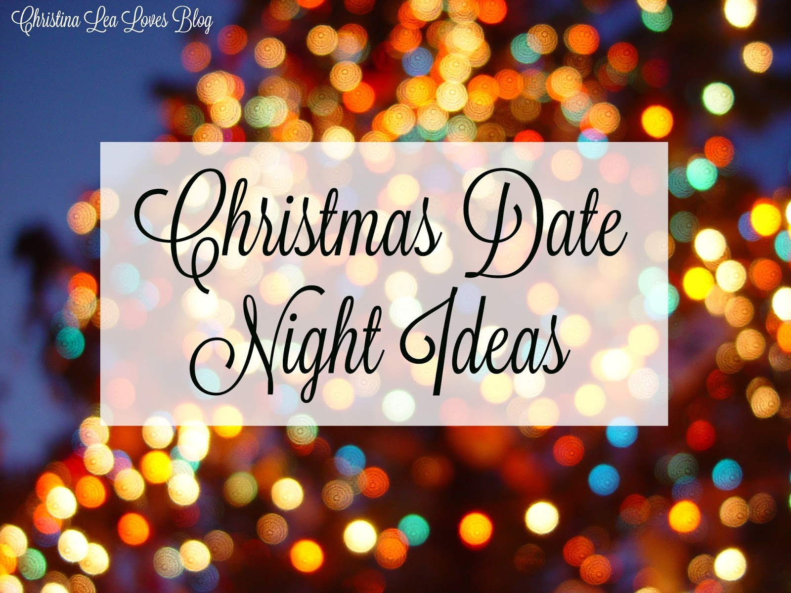 Date night xmas gifts for her