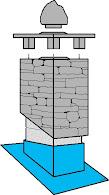 """""""Pipehatt"""" av betong"""