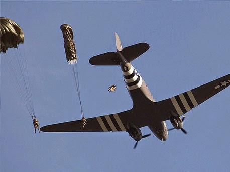 Airagro - Lansare parasutisti